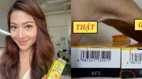 Trung Quốc bắt tại trận ổ làm giả serum Nhật Bản nổi tiếng, chị em nào đang dùng mau kiểm tra ngay chi tiết này để xem có phải hàng fake