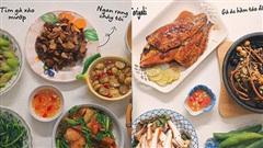 Mẹ đảm Hà Nội giải bài toán khó 'hôm nay ăn món gì' bằng 30 mâm cơm tuyệt ngon, không trùng món khiến chồng phải khen nức nở!