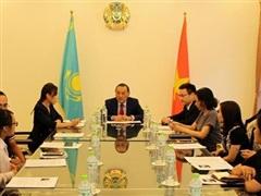 Quan hệ Việt Nam-Kazakhstan không ngừng đi vào thực chất