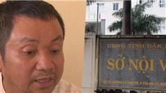 Vụ Thanh tra Sở Nội vụ nhận hối lộ: Chánh Thanh tra khẳng định không liên quan, 'việc này xảy ra ngoài giờ hành chính'