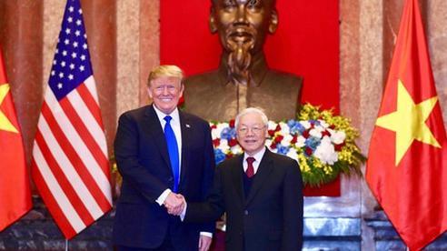 Tổng Bí thư, Chủ tịch nước Nguyễn Phú Trọng gửi điện mừng tới Tổng thống Mỹ Donald Trump