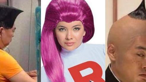 Loạt mẫu tóc 'thảm họa' của các nhân vật truyện tranh khi đi ra đời thực