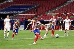 Vòng 34 La Liga: Atletico Madrid dễ dàng hạ gục Mallorca