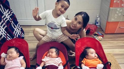 Hành trình đặt cược số phận để giữ 3 con sinh ba của cặp vợ chồng Hà Tĩnh, ly kỳ đến tận ngày đi đẻ