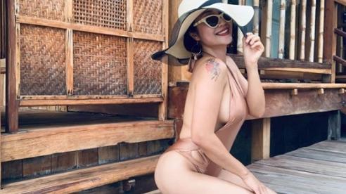 'Gái ba con' ỐC Thanh Vân diện bikini, khoe dáng nóng bỏng