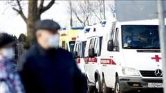 Nga ghi nhận hơn 6.600 ca nhiễm Covid-19 mới, Tây Ban Nha cách ly một thị trấn