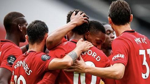 Tái hiện chiến tích của Ronaldo-Tevez, Man United đại thắng 5 sao, thẳng tiến vào top 4