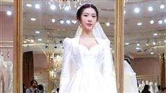 Á hậu Thúy Vân diện váy cưới đẹp như công chúa cổ tích: Cô dâu kiều diễm nhất showbiz đây rồi!