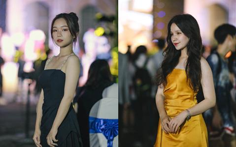 Nữ sinh Chu Văn An lột xác bất ngờ, khoe trọn nhan sắc quyến rũ trong đêm trưởng thành cho khối 12