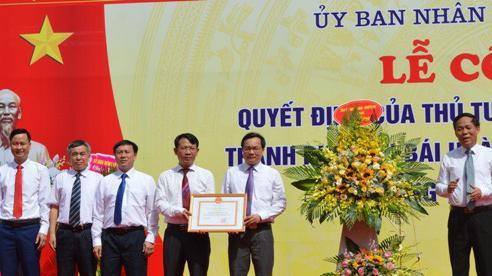 Tỉnh Yên Bái công bố Quyết định của Thủ tướng Chính phủ công nhận TP Yên Bái hoàn thành xây dựng NTM