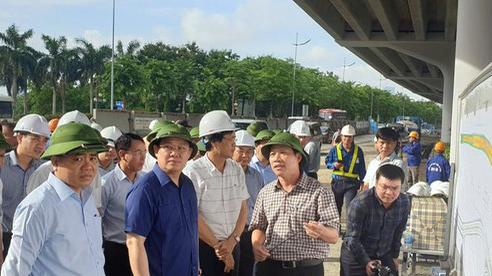 Bí thư Thành ủy Hà Nội kiểm tra nhiều dự án giao thông và 'ấn định' thời gian hoàn thành