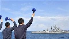 Ấn Độ liên tục tập trận trên biển sau căng thẳng tại biên giới Trung Quốc