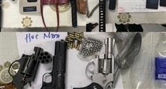Đường dây ma túy 'trang bị' 6 súng, 540 viên đạn và lựu đạn sẵn sàng chống trả Công an