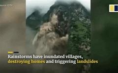 Mưa lũ dồn dập, TQ vừa hủy cảnh báo chưa lâu đã phải ban bố cảnh báo mới: Tình hình rất đáng lo ngại?