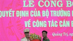Quảng Trị có tân Phó Giám đốc Công an tỉnh 42 tuổi
