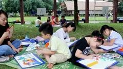 'Mùa hè trong em' tại Làng Văn hóa - Du lịch các dân tộc Việt Nam