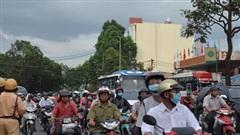 TP.HCM cấm tất cả phương tiện lưu thông trên đường Lê Duẩn
