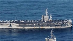Tập trận cùng lúc ở Biển Đông, Trung Quốc tuyên bố 'sẵn sàng đáp trả Mỹ'