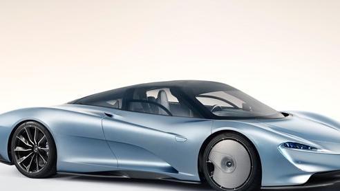 McLaren Speedtail chào hàng đại gia Việt: Giá bán hơn 100 tỷ đồng, chỉ 1 chiếc mới 'đập hộp'