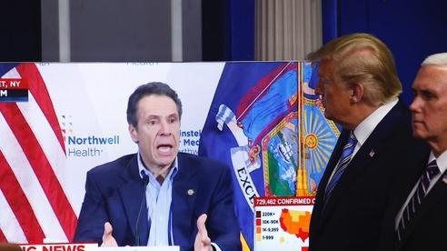 Covid-19: Thống đốc New York trút chỉ trích lên Tổng thống Trump