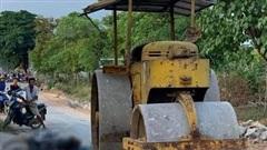 Nữ công nhân bị xe lu cán tử vong ở Nghệ An