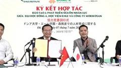 Ký kết hợp tác đào tạo và phát triển nguồn nhân lực tiếng Nhật chất lượng cao