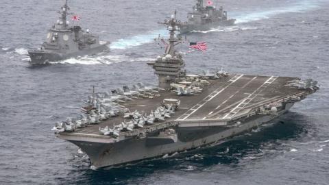 Quân đội Mỹ làm gì để nắn gân Trung Quốc?