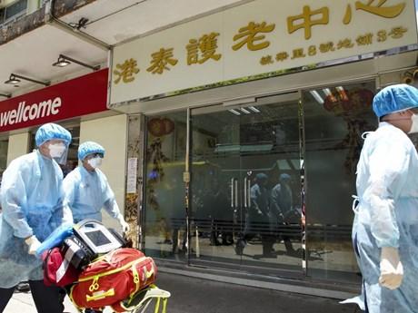 Hong Kong xuất hiện nhiều ca lây nhiễm COVID-19 trong cộng đồng