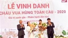 Ngày hội tụ và vinh danh con cháu Vua Hùng toàn cầu
