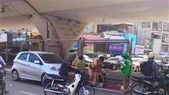 Bị yêu cầu dừng xe, tài xế tăng ga kéo lê trung uý CSGT chấn thương phải nhập viện
