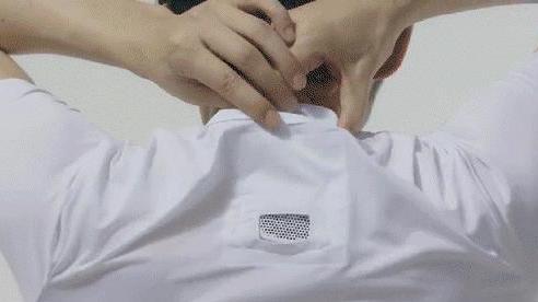 Sony ra mắt máy điều hòa di động gắn bên trong áo, giá 120 USD