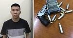 Gặp chốt 141, tài xế 'ngơ ngác' khi bị phát hiện súng trên xe