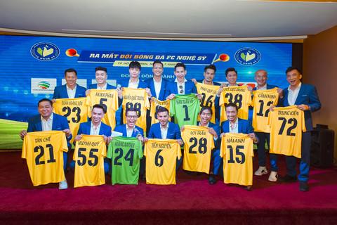 Ra mắt Câu lạc bộ FC Nghệ Sỹ