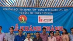 Thanh Hóa: Trao nhà 'khăn quàng đỏ' cho học sinh nghèo vượt khó
