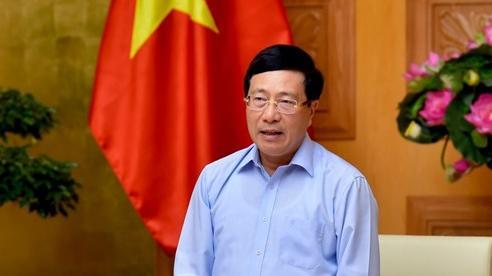 Phó Thủ tướng Phạm Bình Minh chủ trì họp Ban Chỉ đạo liên ngành về Hội nhập quốc tế