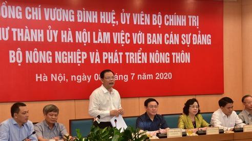 Bộ trưởng Nguyễn Xuân Cường: Nông dân Hà Nội phải là 'nông dân 4.0'