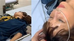Cô dâu 62 tuổi bất ngờ nhập viện trong đêm, chồng trẻ Hoa Cương chia sẻ nguyên nhân khiến vợ bị sốc