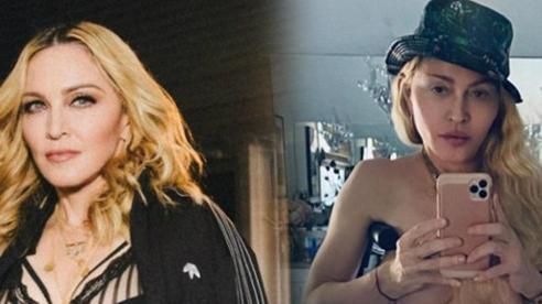 'Nữ hoàng nhạc pop' Madonna gây bất ngờ khi khoe thân hình gợi cảm khó tin ở tuổi 62