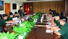 Cục Gìn giữ hòa bình Việt Nam kiểm tra về công tác huấn luyện cho Bệnh viện Dã chiến cấp 2 số 3