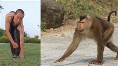 Người đàn ông tập thể dục bằng cả 4 chi như khỉ suốt 3 thập kỷ