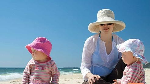 'Lá chắn' hữu hiệu cho làn da của trẻ