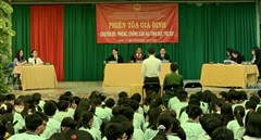 Phiên tòa giả định để tuyên truyền phòng, chống xâm hại tình dục trẻ em