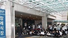 Các đảng đối lập bày tỏ thương tiếc Thị trưởng Seoul