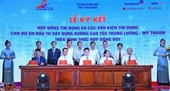 VietinBank giải ngân 4 gói thầu tại dự án Trung Lương - Mỹ Thuận