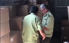 Phát hiện kho hàng lậu lớn trị giá hàng trăm triệu đồng tại Đồng Nai