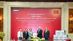 Vingroup tặng 1.000 máy thở cho Nga, Ucraina và Singapore