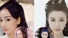 Khi mỹ nhân Cbiz đọ sắc với diễn viên đóng thế: Dương Mịch, Angela Baby cứ như có 'chị em sinh đôi' vậy