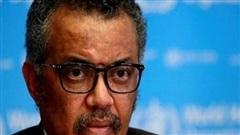 Tổng giám đốc WHO khẩn thiết kêu gọi thế giới đoàn kết với đôi mắt rớm lệ