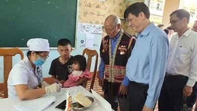 Bộ Y tế thành lập 4 tổ công tác hỗ trợ điều trị bệnh bạch hầu tại các tỉnh Tây Nguyên