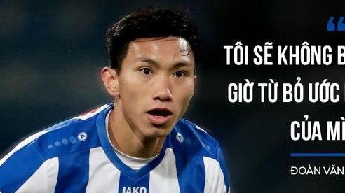 Đoàn Văn Hậu lần đầu nói về việc rời SC Heerenveen: '10 tháng vừa qua là quãng thời gian đẹp nhất, tôi sẽ không bao giờ từ bỏ giấc mơ của mình'